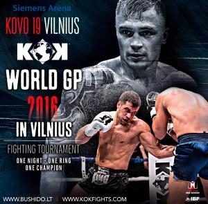 KOK World Series 2016 rezultatai (video)