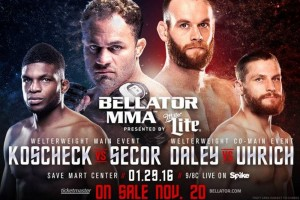 Bellator 148 rezultatai (video)