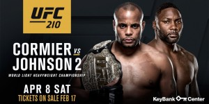 UFC 210: Daniel Cormier prieš Anthony Johnson 2 (video)