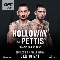 UFC 206: Anthony Pettis prieš Max Holloway
