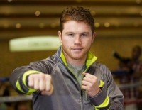 Canelo Alvarez prieš Julio Cesar Chavez Jr. (video)