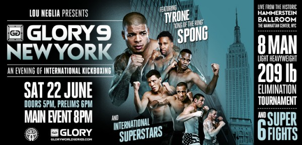 GLORY 9 NYC: 8-man Tournament video anonsas (#2)