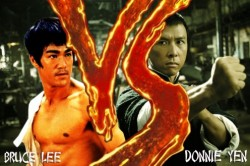 Donnie Yen prieš Bruce Lee (video)