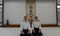 Aikido federacijos meistrai įgijo aukštesnius Dan laipsnius
