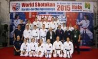 Bronzos medaliai Pasaulio Šotokan karatė čempionate Lenkijoje