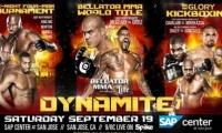 Bellator MMA & Glory: Dynamite 1 reitingai