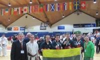 Airijoje lietuviai tapo Europos JKA WF karatė jaunimo vicečempionais