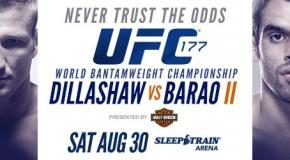 UFC 177 - metas revanšui