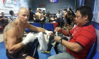 "Tailando ""Max Muay Thai"" ringe – antroji iš eilės Sigito Gaižausko pergalė"