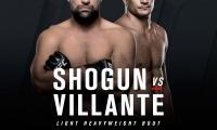 UFC FN 107: Shogun Rua prieš Gian Villante