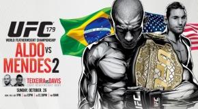 """UFC 179: """"Aldo vs Mendes II"""" apžvalga"""