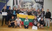 Pankrationo čempionate Rygoje - lietuvių medaliai