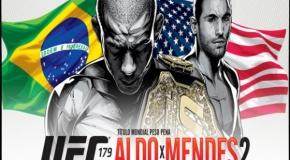 UFC 179 rezultatai