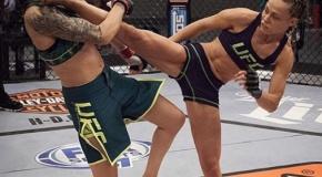 Rose Namajunas per du žingsnius iki UFC čempionės titulo! (nuoroda į video)