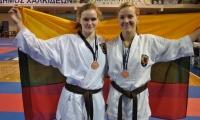 Bronzos medaliai iš Europos Šotokan karate čempionato Graikijoje