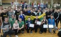 Lietuvos kovotojai sėkmingai pasirodė atvirame Latvijos kikbokso čempionate