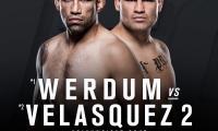 UFC 207: Fabricio Werdum prieš Cain Velasquez 2