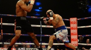 5-oji Anthony Joshua kova, 5-tas nokautas (video)