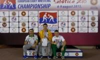 Mantas Adomaitis – Europos imtynių jaunių čempionato prizininkas