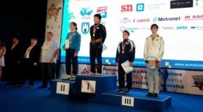 Imtynininkė Danutė Domikaitytė – pasaulio jaunimo čempionato prizininkė