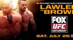 UFC on FOX 12 svėrimai (video)