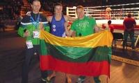 Lietuvos muaythai rinktinė tęsia kovas pasaulio čempionate