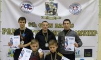 6-ajame Baltijos pankrationo čempionate - lietuvių medaliai