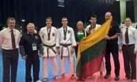 Europos shotokan karatė čempionate lietuviai iškovojo bronzos medalius