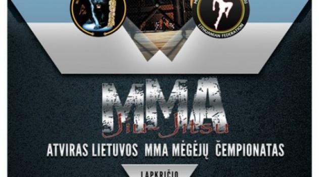 Atviro Lietuvos MMA mėgėjų čempionato rezultatai