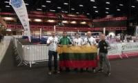 Apie lietuvių startus pasaulio kikbokso čempionate