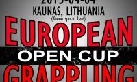 Europos grappling imtynių taurės varžybų rezultatai