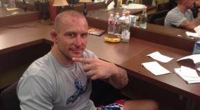 Egidijus Valavičius atleistas iš Bellator MMA