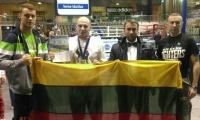 Lietuviškasis motyvatorius tapo WAKO Europos kikbokso vicečempionu