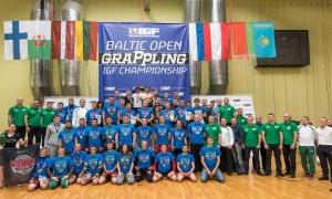 Atvirose Baltijos graplingo žaidynėse – T.Aukštuolio triumfas