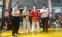 Donatas Bruožis tapo pasaulio jaunimo shindokai-kan karatė čempionu