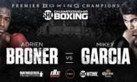 Mikey Garcia kovėsi prieš Adrien Broner