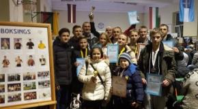Jaunieji Lietuvos kikboksininkai kovėsi Latvijoje