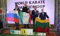 Lietuvos šotokan  karatė meistrai Pasaulio taurės varžybose – treti