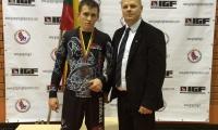 2015 metų absoliutus Lietuvos grappling imtynių čempionas Viktor Tomaševič