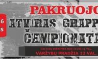 Vasario 16 d. Pakruojyje vyks atviras graplingo čempionatas.