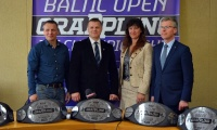 LGF spaudos konferencija prieš Baltijos šalių atvirą grappling imtynių čempionatą