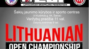 Lietuvos atviro grappling imtynių čempionato rezultatai