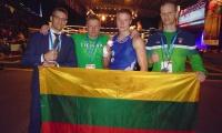 Iš pasaulio muaythai čempionato lietuviai grįžta su sidabru ir bronza