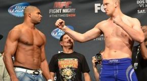UFC on Fox 13 svėrimų procedūra