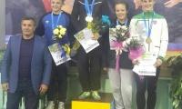 Danutė Domikaitytė – imtynių turnyro Ukrainoje trečios vietos laimėtoja