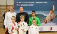 Baltijos ušu čempionate Lietuvos rinktinė iškovojo tris aukso medalius
