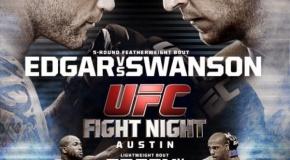 UFC Fight Night 57 rezultatai
